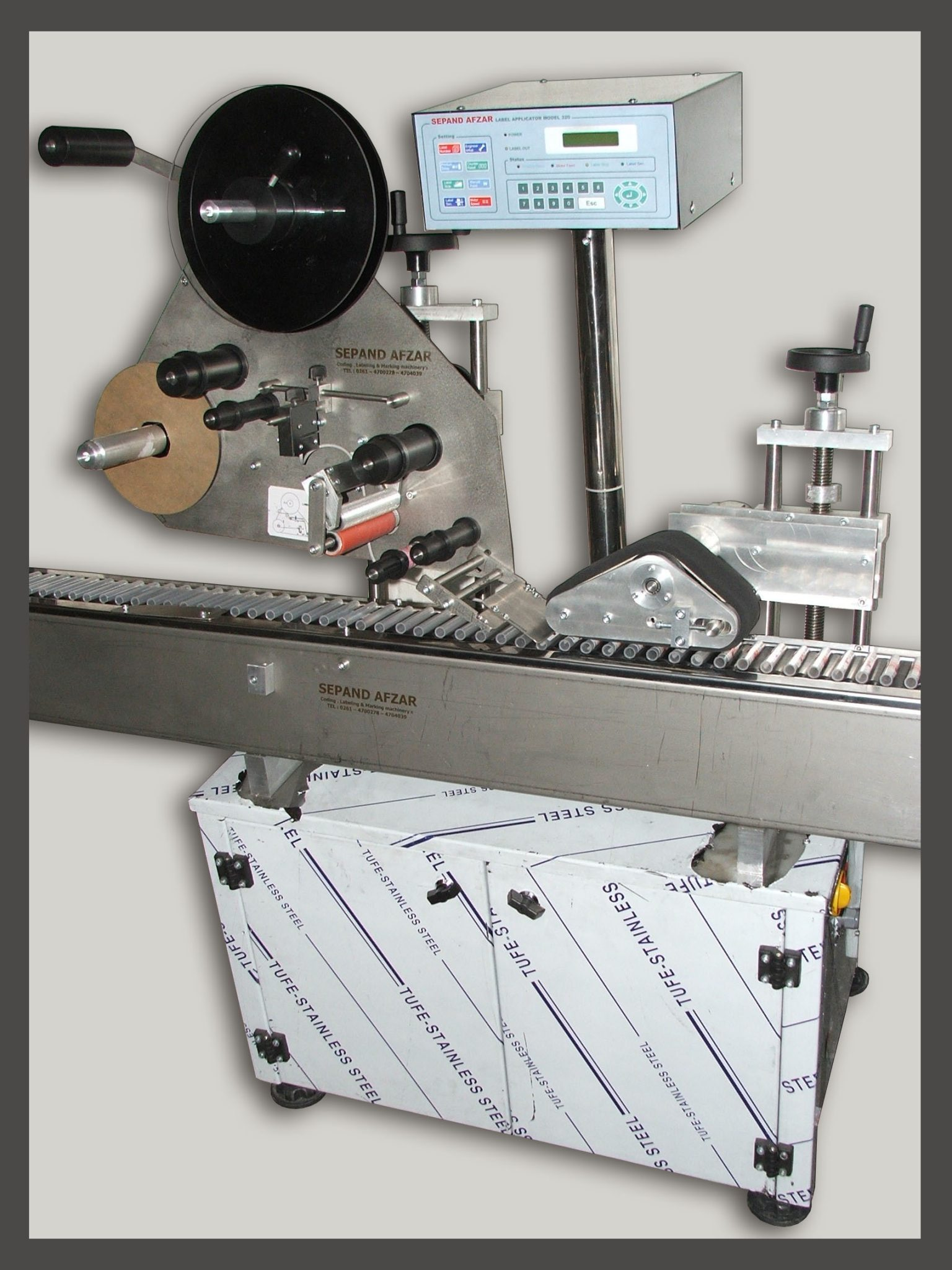 ampule labeling machine