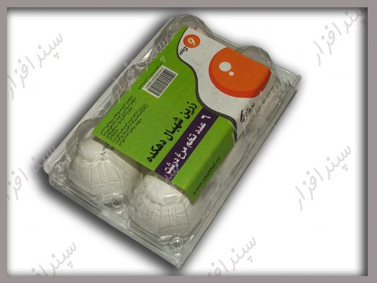 label applicator for eggs